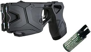 Best Weatherproof Design Taser X2 Defender Kit and 1 Pepper Shot 2 oz Pepper Spray Fogger - Personal Self Defense Equipment Bundle Package
