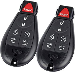 $24 » 7 Button Key Fob Compatible for 2008-2015 Chrysler Town and Country, 2008-2014 Dodge Grand Caravan