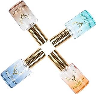 Beaupretty 4Pcs 12ML De Vidro Frascos de Spray de Perfume Vazio Recarregáveis Mini Spritzer Pulverizador Fino Da Névoa par...