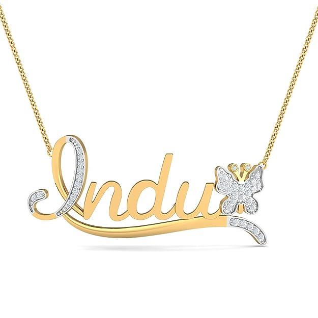 Lovely Indu Name Pendant