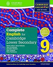 Complete English for Cambridge Sec 1 SB 9 (Cambridge Checkpoint and Beyond)