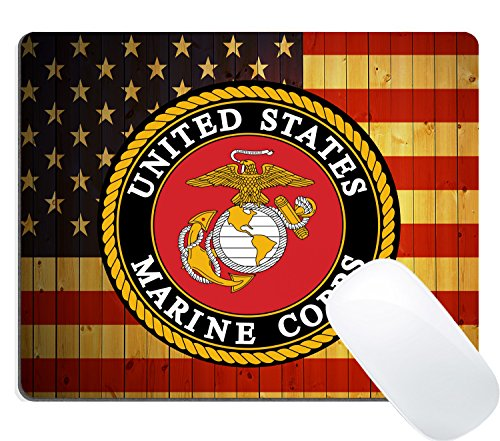 Retro American Marine Corps Eagle Flag Mouse Pad Office Products Customized Accessories