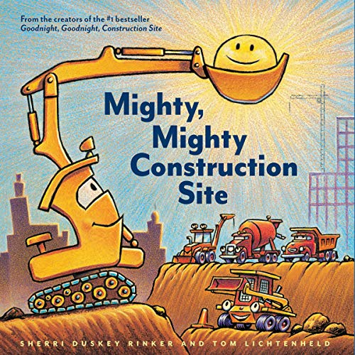 Page de couverture de Mighty, Mighty Construction Site