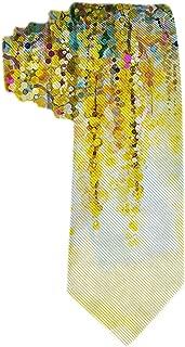 Corbata de hombre Flores abstractas Pintura de acuarela Flores de ...