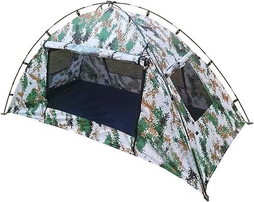 Gocher Tente de Camouflage numérique 1-2 Personnes Tente de Soldat étanche au Vent Camo Simple Tente pour la randonnée en Plein air