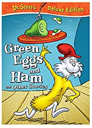 Green Eggs and Ham children's book cover