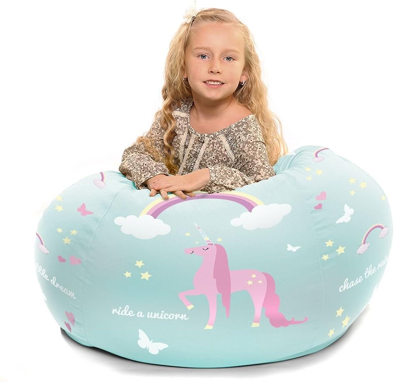 Personalised Kids Unicorn Beanbag (Small)
