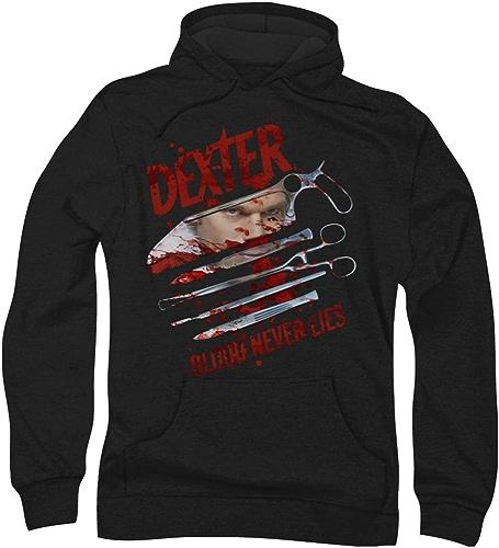 Dexter - - Le sang des hommes Never Lies sweat à capuche
