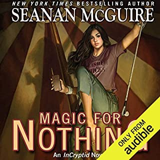 Magic for Nothing audiobook cover art