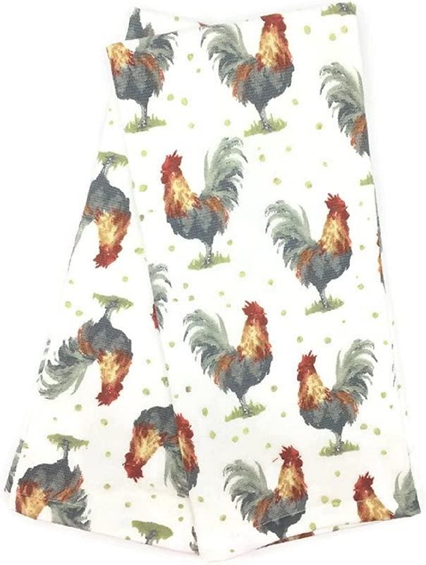 Deborah Connolly Designs Roosters Kitchen Towel Set