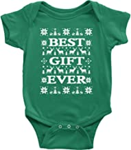 JUMPMAN Best Gift Ever Ugly Christmas Onesie. Coolest Vacation Bodysuit. New Mom Gifts