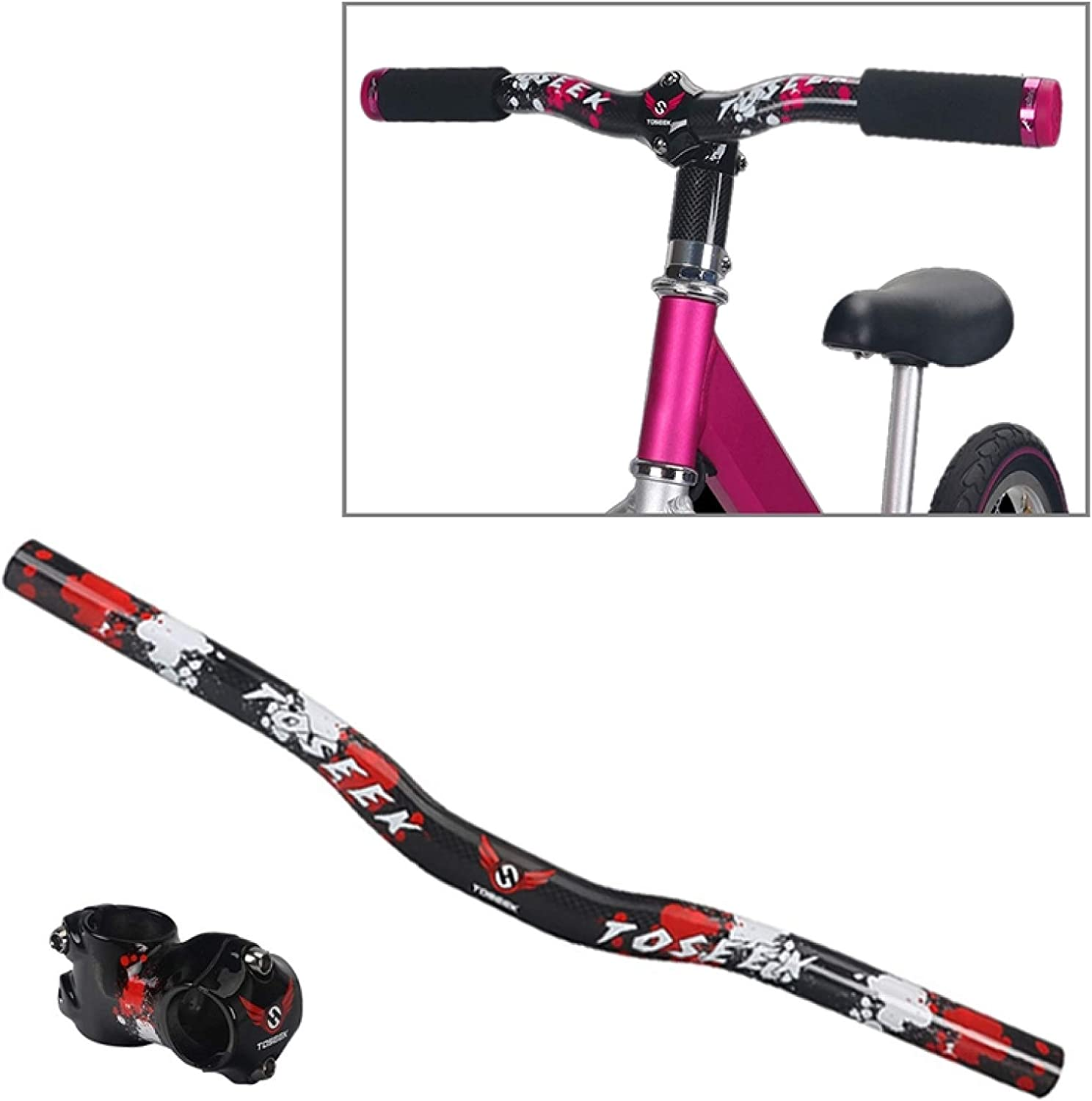 Jiangym Sports NEW before selling ☆ Accessories Carbon Fiber Be Children Balance Bike Inexpensive