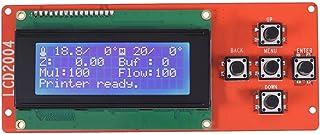 وحدة تحكم بشاشة عرض ذكية LCD 2004 مع كابل لـ RAMPS 1.4 Mega Pololu Shield Reprap 3D Printer Kit