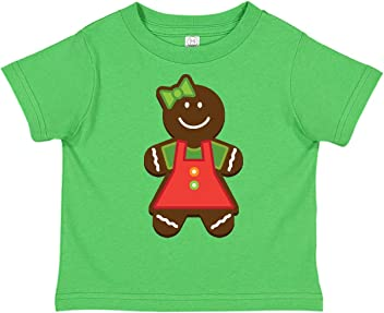 inktastic Twins 1st Christmas Gingerbread Girls Infant Creeper