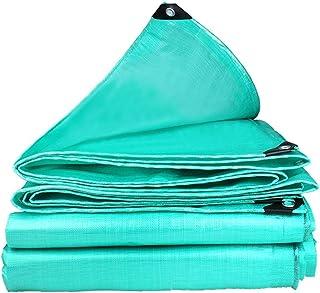 IDWOI Plane Gartenmöbel wasserdichte Abdeckung PE Regenschutzplane Sonnenschutz Leinwand Außenüberdachung Camping Groundsheets Markise (Color : Green, Size : 6 X 16m)