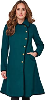Joe Browns Womens 2 in 1 Reversible Button Up Coat