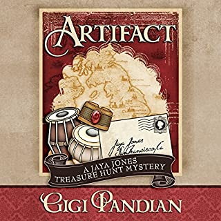 Artifact     A Jaya Jones Treasure Hunt Mystery, Book 1              By:                                                                                                                                 Gigi Pandian                               Narrated by:                                                                                                                                 Allyson Ryan                      Length: 7 hrs and 42 mins     492 ratings     Overall 4.0