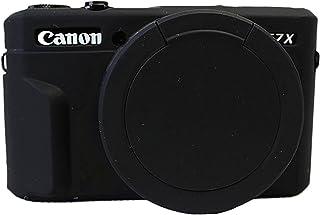 キヤノンPowerShot G7xマークiiカメラブラックのための取り外し可能なレンズカバーシリコーンゲルゴム柔らかさカメラケースカバー