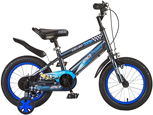 Kinderfahrrad Kinderfahrrad Jungenfahrrad Fahrrad einfach zu Doppelbremssystem zu montieren Kinderfahrrad (Farbe   Blau, Größe   A)