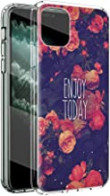 """Yoedge Case for vivo iQOO 7 (5G) 6.62"""",Clear Silicone Fashion Floral Girl Women Phone Case,Slim Transparent Shockproof Sof..."""
