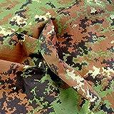 TOLKO Camouflage Stoff aus Ripstop Nylon   dünn wie
