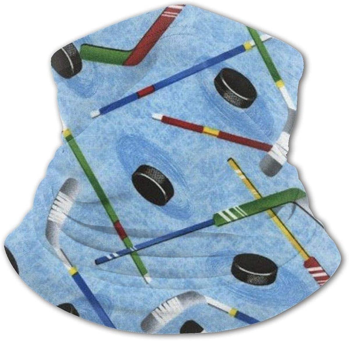 Hockey Sticks Headwear For Girls And Boys, Head Wrap, Neck Gaiter, Headband, Tenn Fishing Mask, Magic Scarf, Tube Mask, Face Bandana Mask For Camping Running Cycling