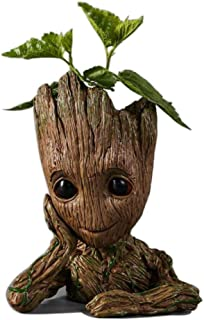 Guardians of The Galaxy Action Figures Baby Model Pen Holder Flowerpot Best Gift 6.3