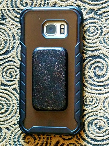 EMF Shield for Cell Phone Case - Orgonite Protection Sticker - WiFi Radiation Blocker - Black Sun Orgone 2 Medium Rectangles