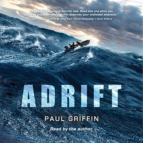 Adrift audiobook cover art