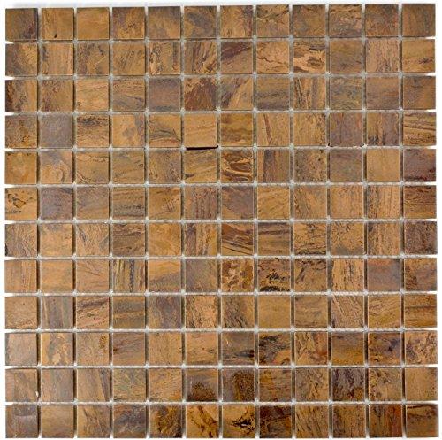 Mosaik Fliese Kupfer kupfer braun für WAND THEKENVERKLEIDUNG Wandverkleidung osaikmatte Mosaikplatte