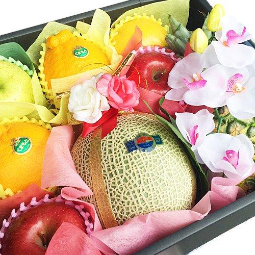 【贈答用】 フルーツ詰め合わせ 大 化粧箱入り 御祝 景品 法事