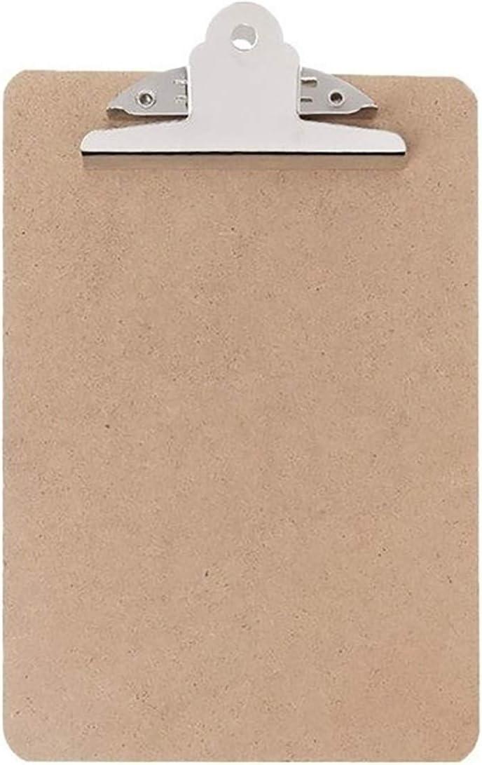 SFACN 10 PCS Portable A4 A5 Wooden Max 69% OFF File Splint Writing Cardboa Sales
