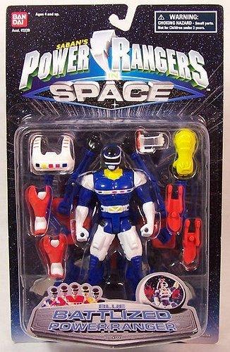Power Rangers in Space Blue Battlized Power Ranger Vintage 1997 Action Figure