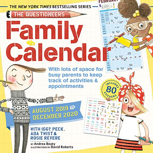 The Questioneers Family Planner 2020 Wall Calendar (Calendars 2020)