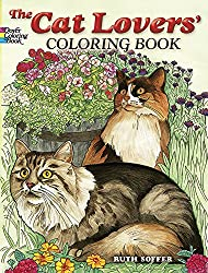 cat lovers coloring book for adults