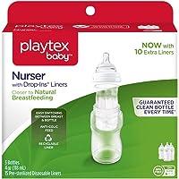 3-Pack Playtex Disposable Drop-Ins Liners Baby Nurser Bottle 4oz