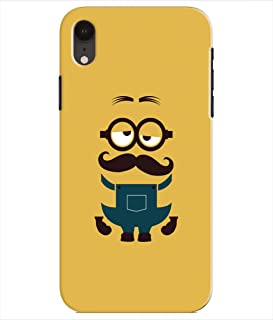 Pinaaki Enterprises Designer Printed Soft Silicone Back Case Cover for Apple iPhone XR