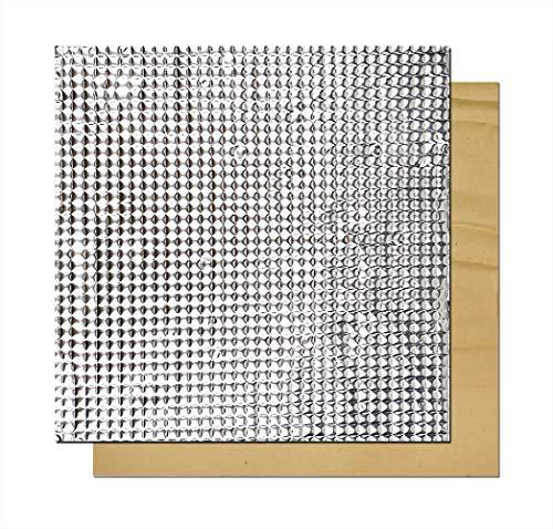 SOOWAY 3D Drucker plattform Heißbett Isolierung Baumwolle Leichte Schaumstofffolie selbstklebend Isolierung Matte Aufkleber Heißbett Thermopad kompatibel mit CR-10S Ender 3 Anet A8 (220 x 220 mm Neu)