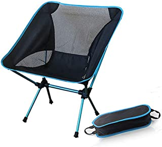 weuiuit Portable Gray Chair Fishing Camping Stool Folding Hiking Seat with Pocket Office Home Furniture,Sf73300Sb