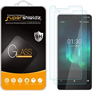 (2 Pack) Supershieldz for Nokia (3.1 C) Tempered Glass Screen Protector, Anti Scratch, Bubble Free