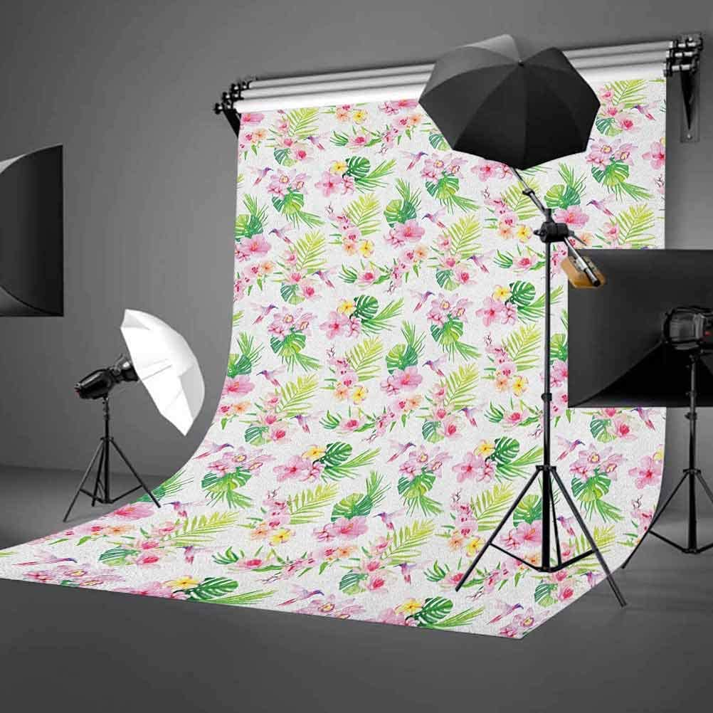8x12 FT Butterfly Vinyl Photography Backdrop,Abstract Spring Nature Theme Butterfly Silhouettes Peaceful Romantic Illustration Background for Baby Birthday Party Wedding Graduation Home Decoration