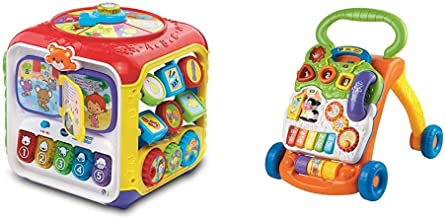 VTech Sort and Discover Activity Cube (Frustration Free Packaging), Great Gift for Kids, Toddlers, Toy for Boys and Girls,...