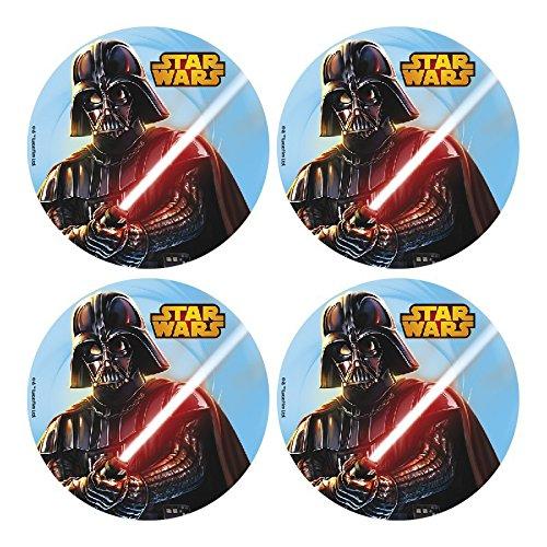 12 Mini disques Azyme Star Wars