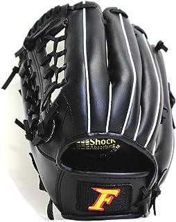 サクライ貿易(SAKURAI) FALCON ファルコン 野球グラブ グローブ 軟式少年 オールラウンド用 Jr-Mサイズ ブラック 左用 FG-2355 身長130~145cm位 小学低・中学年向け