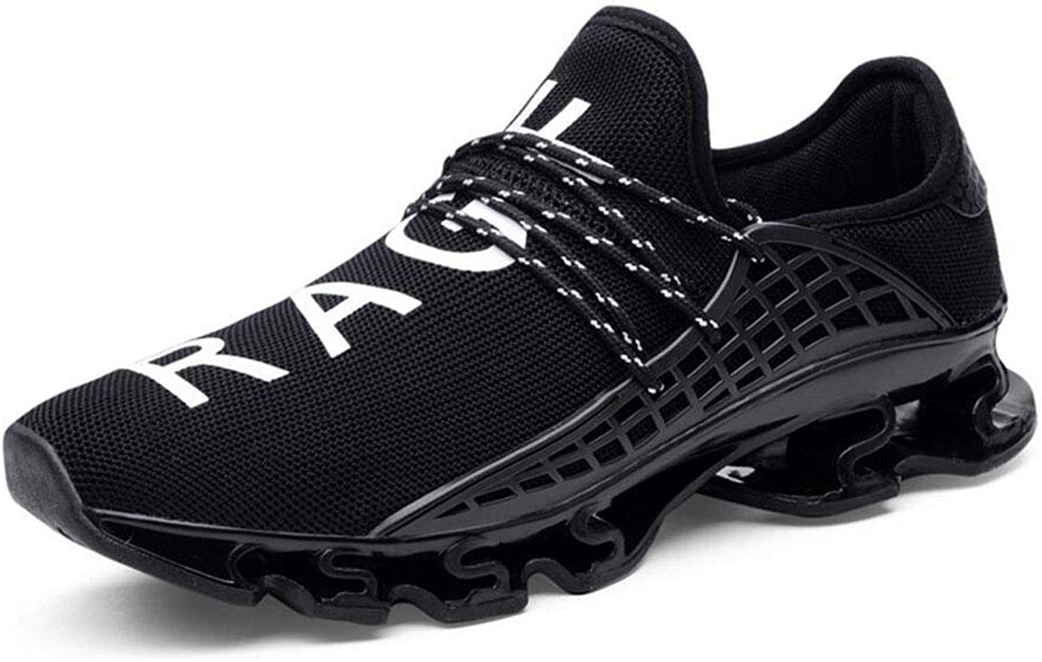 Zxcvb Men's Lightweight Slip On Mesh Sneakers Outdoor Athletic Running shoes Casual Sport shoes