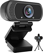 Avater HD Webcam 1080P with Microphone, PC Laptop Desktop USB Webcams 110-Degree Widescreen Web Camera with Rotatable Clip...