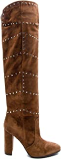 Luxury Fashion | Via Roma 15 Women 3197VELOURMARTORA Brown Leather Boots | Autumn-winter 19