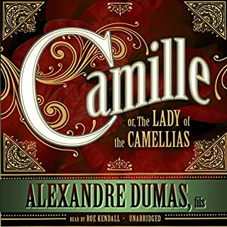 Camille audiobook cover art