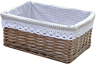 Best large wicker basket with lid Reviews
