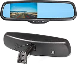 Eway Interior Backup Rear View Replacement Anti-Glare Mirror Built in TFT LCD 4.3